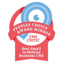 Evoq Content vince il People's Choice Award 2013 di CMS Critic